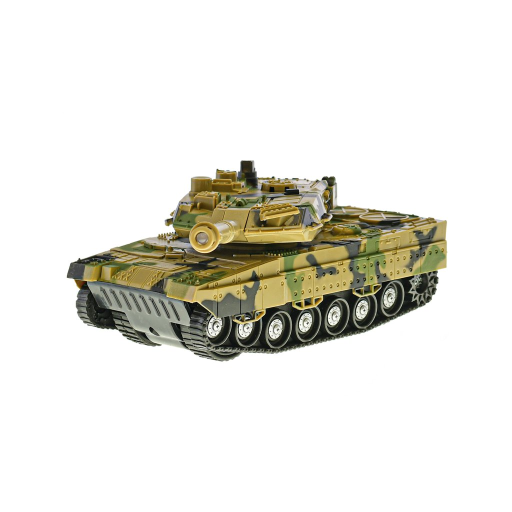 Tank 1:32 24cm na zotrvačník na batérie so svetlom a zvukom 2farby