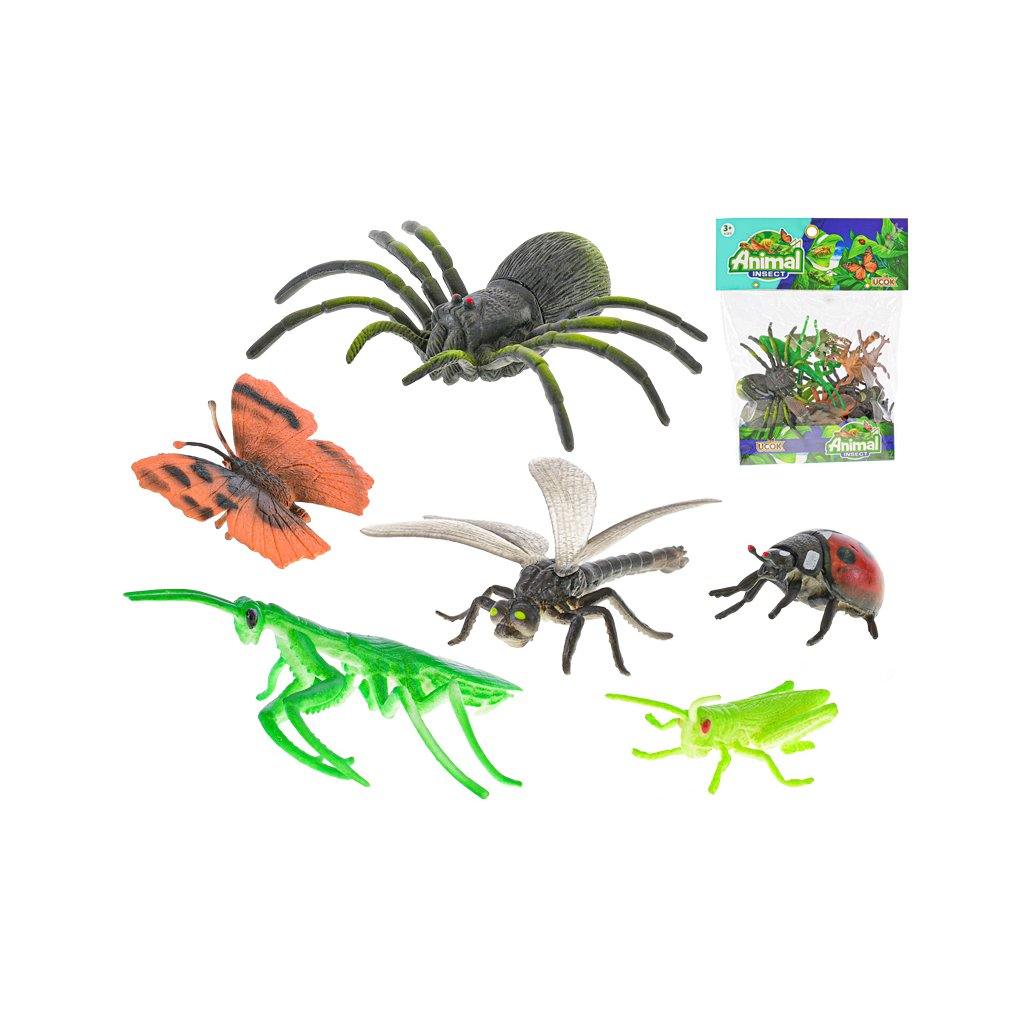 Hmyz 5-12cm 12ks v sáčku