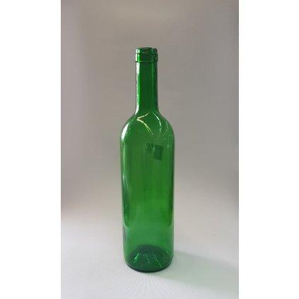 flasa na vino zelena 700ml