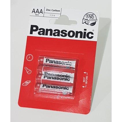 Bateria AAA R03 Panasonic 1,5V
