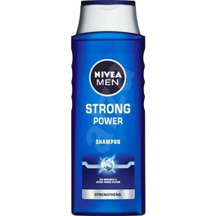 Nivea Men Strong Power sampon pre mužov 400 ml