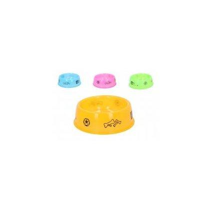 Miska pre zvieratá 17cm ZL00539, 10928/ORA - Oranžová