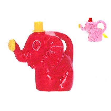 Konvička slon 17cm 10m+ 2farby v sieťke