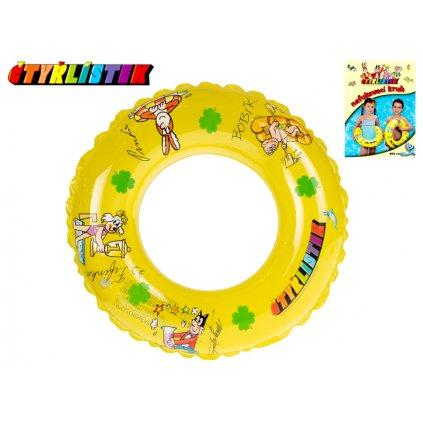 Kruh Štvorlístok transparentný 50cm 3-10 rokov v sáčku, H18965