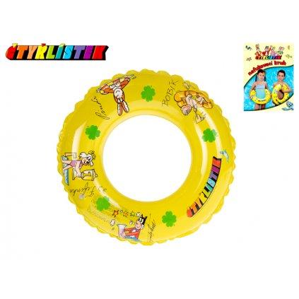 Kruh Štvorlístok transparentný 40cm 3-10rokov v sáčku