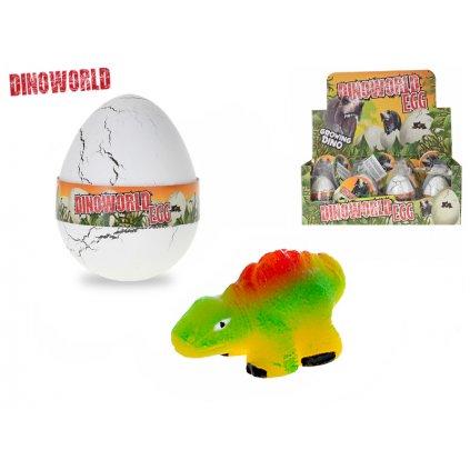 Dinosaurus liahnúci a rastúcí vo vajíčku 12ks v DBX