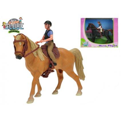Koník s jazdcom 2farby v krabičke, H1640078