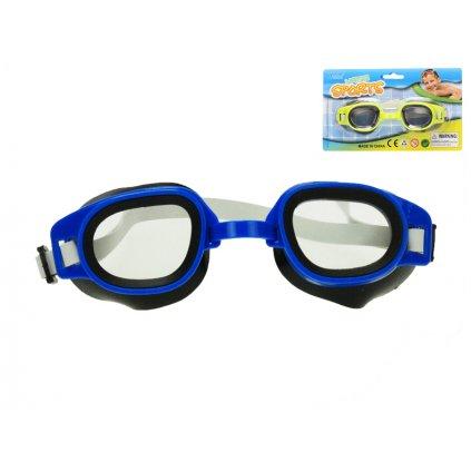 Plavecké okuliare 15cm 2farby na karte
