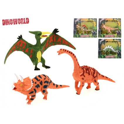 Dinosaurus 12-13cm 6druhov v krabičke