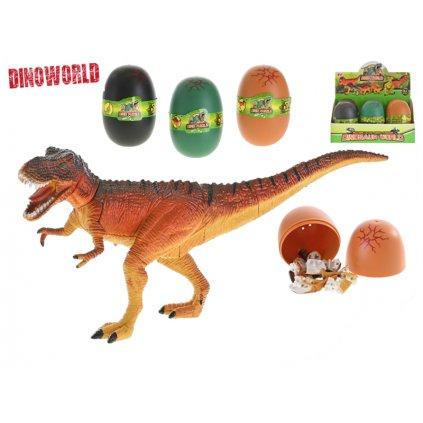 Skladačka 3D dinosaurus 9cm 3farby
