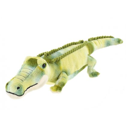Krokodíl plyšový 52cm 0m+ v sáčku