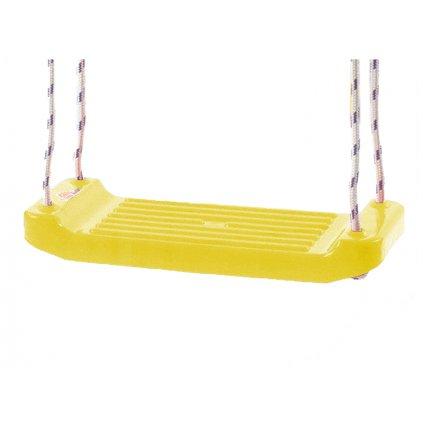 Hojdačka plastová (doštička) žltá v sieťke