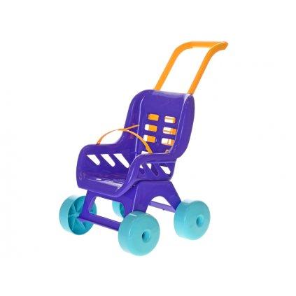 Kočík Buggy plastový fialový
