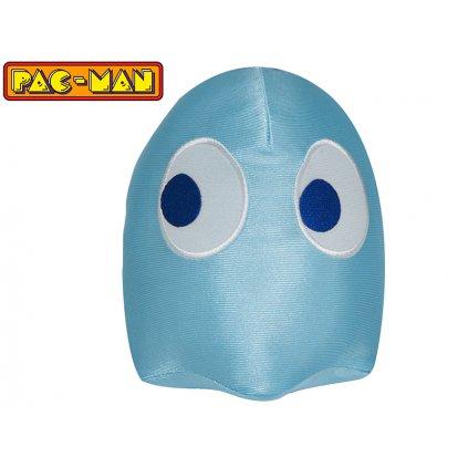 Pac-Man lesklý 14cm plyšový Ghost modrý 0m+