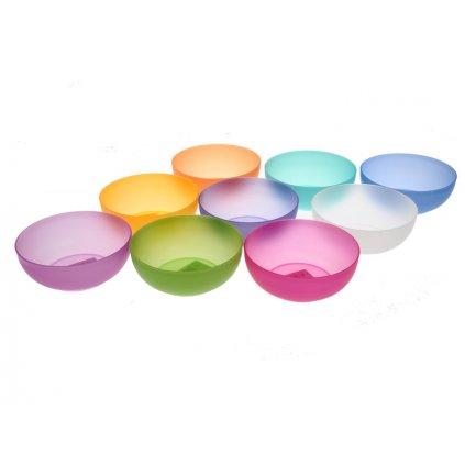 Miska plastová 950ml 2040601, 7736/BIE - Biela