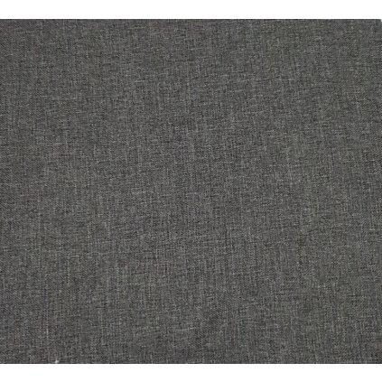 Sedák ovál jednofarebný 40x40cm, 8993/SIV - Sivá