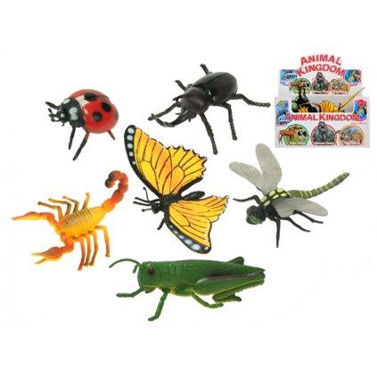Hmyz 9-13cm 6druhov