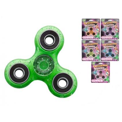 Extreme Spinner 7,6cm s trblietkami 6farieb na karte
