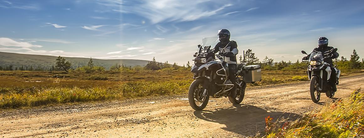 Švédské motocyklové oblečení Halvarssons, Lindstrands a Jofama