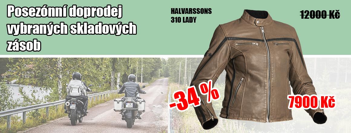 Halvarssons 310 Lady, kožená bunda