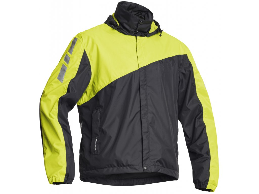 Lindstrands WP JACKET Blaxk/Yellow