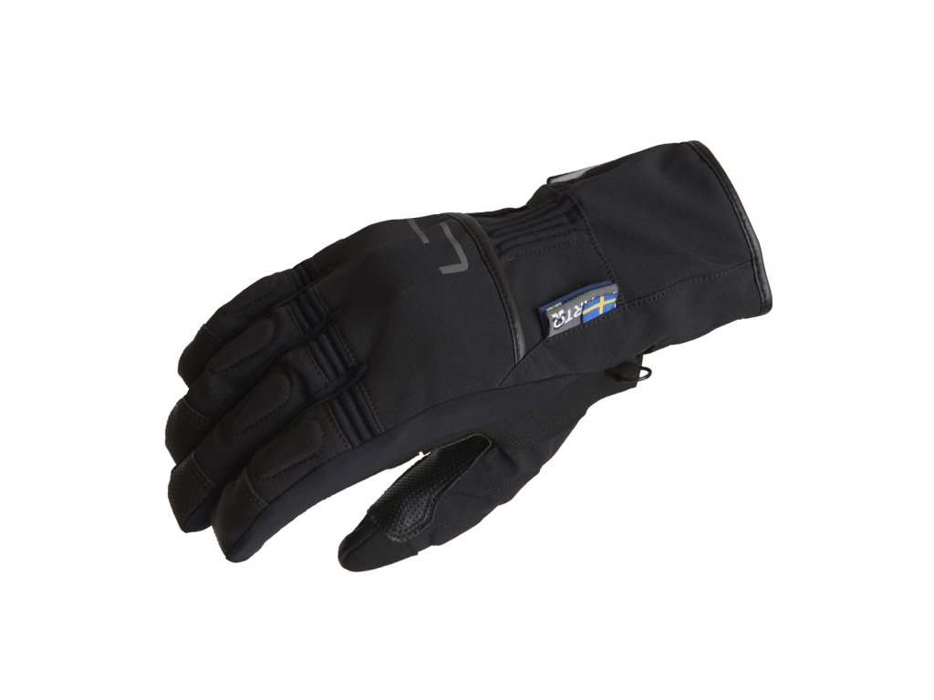 Lindstrands Glove Lillmon Black/grey