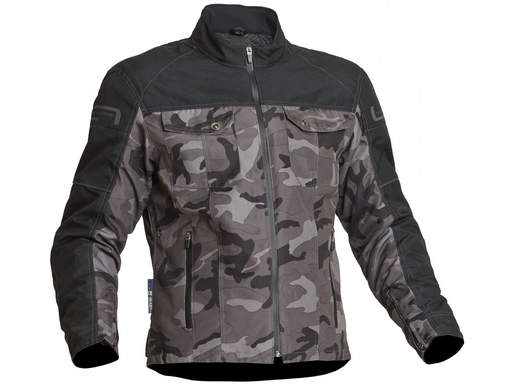 Textilní bunda Lindstrands Lugnet Camo