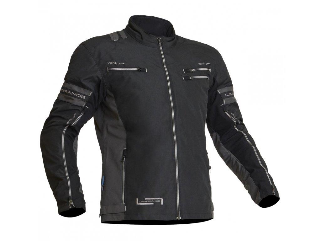 Lindstrands Textile Jacket Lysvik Black