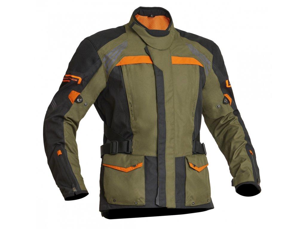 Lindstrands Textile Jacket Transtrands Green/orange