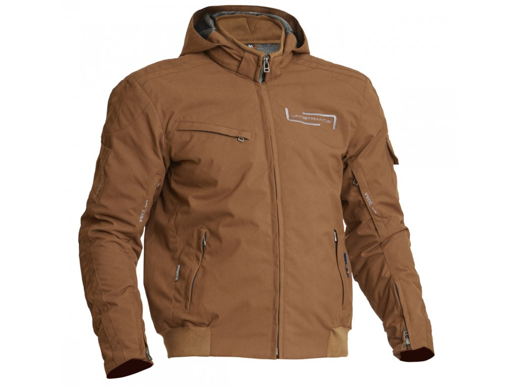 Lindstrands Textile Jacket Uvan Brown