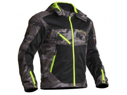 Lindstrands Textile Jacket Rexbo Camo/gul