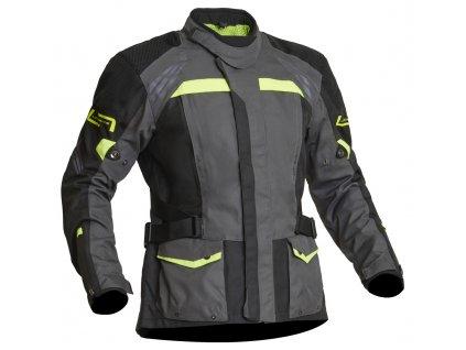 Lindstrands Textile Jacket Transtrands Grey/yellow
