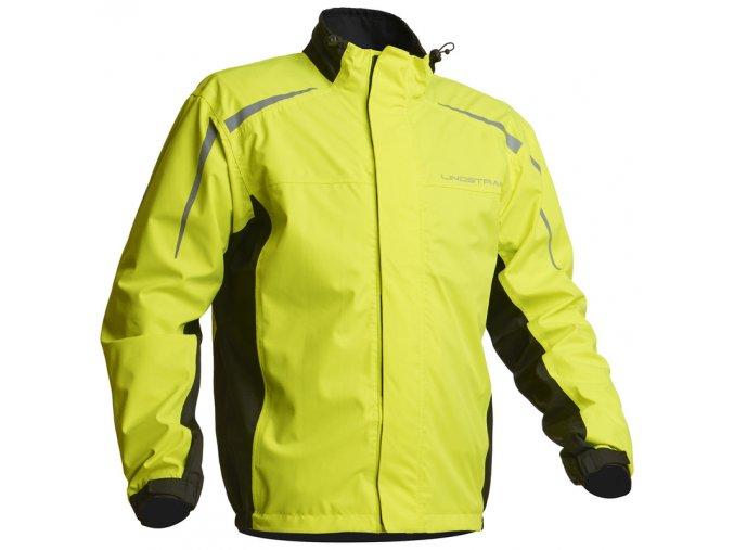Nepromokavá bunda Lindstrands DW+ Black/Yellow