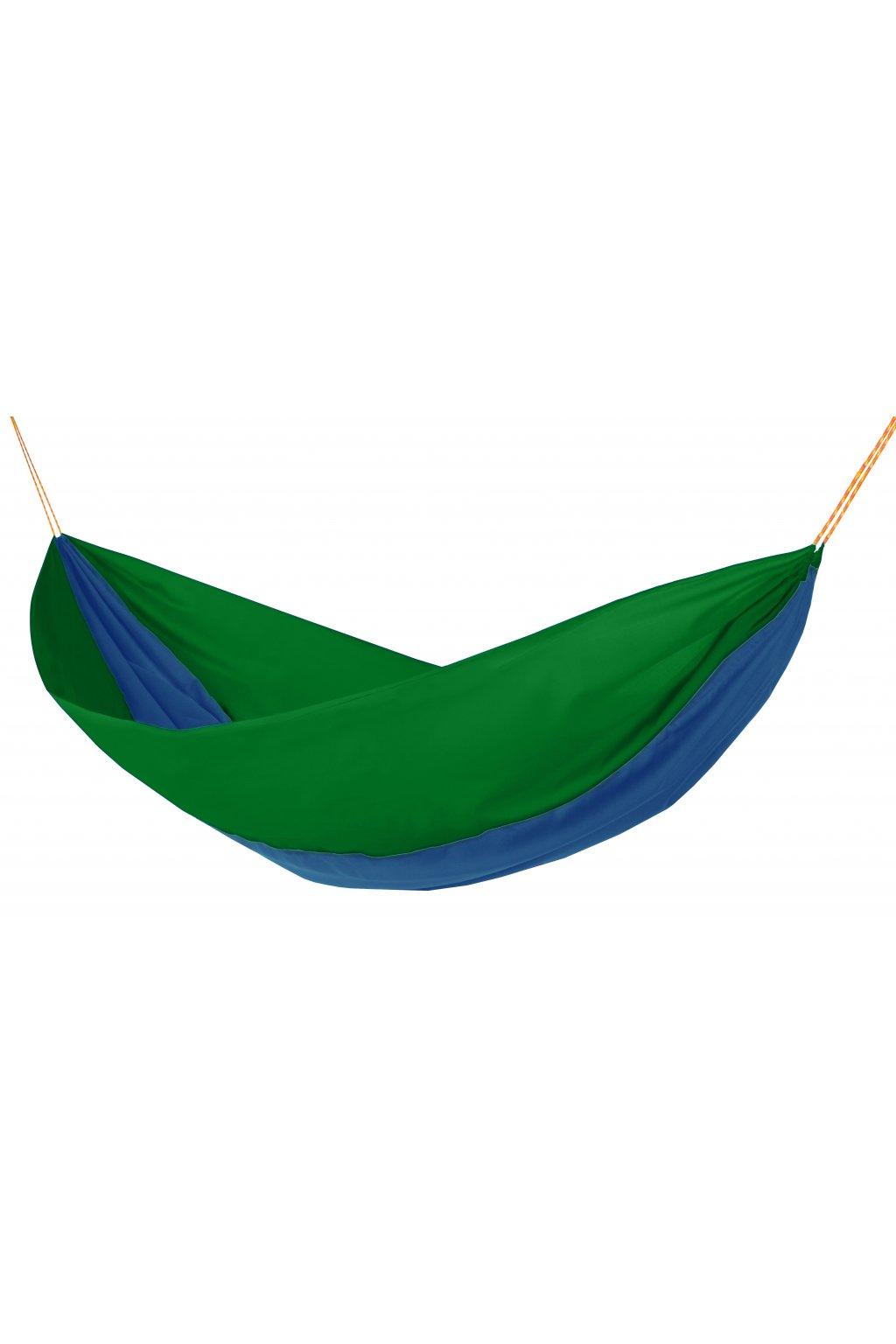 Hamaka zeleno modro zelena