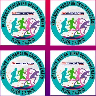 7.3.2020 - Plzeňská padesátka a Březnový maraton okolo Boleváku