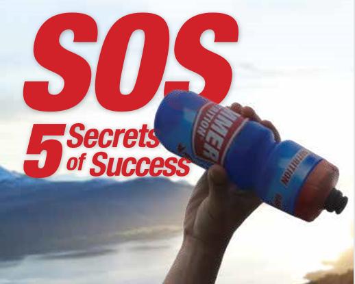 Pět tajemství úspěchu pro vytrvalostní sportovce