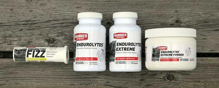 Jen sůl nestačí! Doplňte celé spektrum minerálů pomocí Endurolytes.