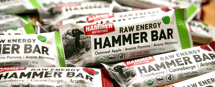 Hammer Bars jsou vysoce kvalitní potraviny, ne cukroví tyčinky.