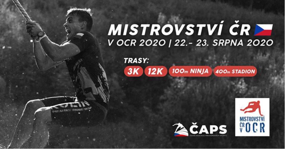 22-23.8.2020 - Mistrovství České republiky v OCR 2020