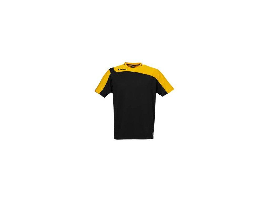 Kempa dres Tribute - černá/oranžová