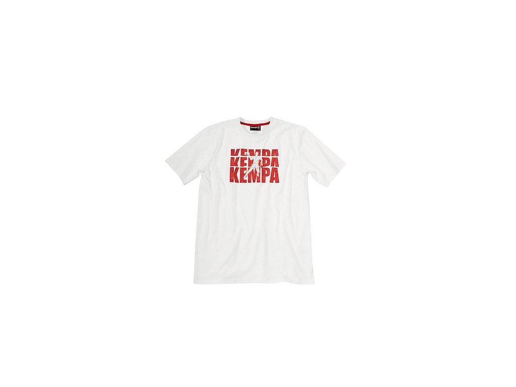 Kempa tričko Impact - bílé