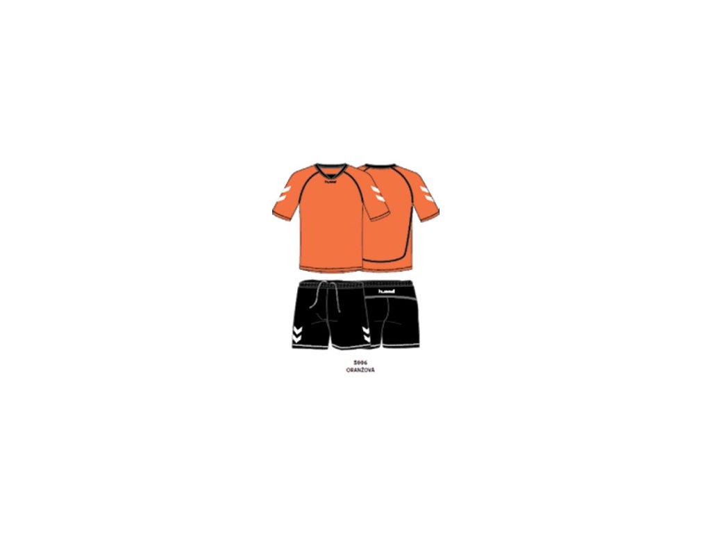Hummel tréninkový set TEAM - oranžová/černá