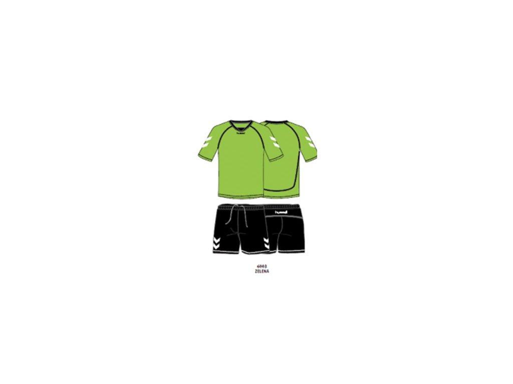 Hummel tréninkový set TEAM - světle zelená /černá