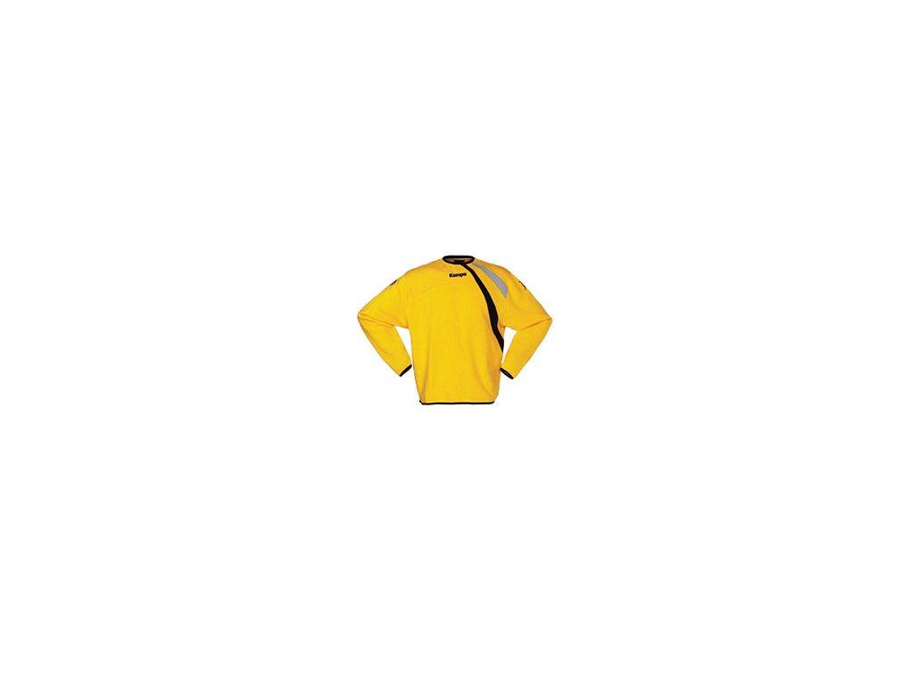 Kempa mikina žlutá