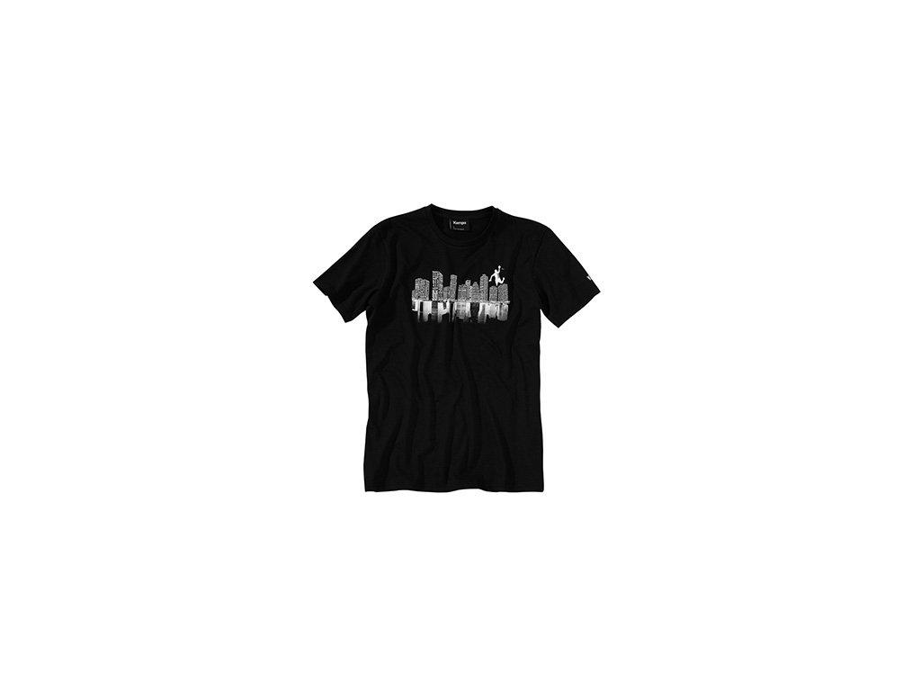 Kempa tričko SKYLINE - černé