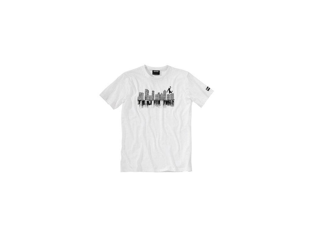 Kempa tričko SKYLINE - bílá