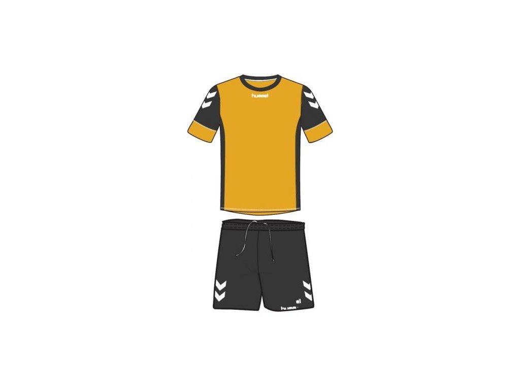 Hummel dres Spirit SMU tréninkový set - zlatá/černá