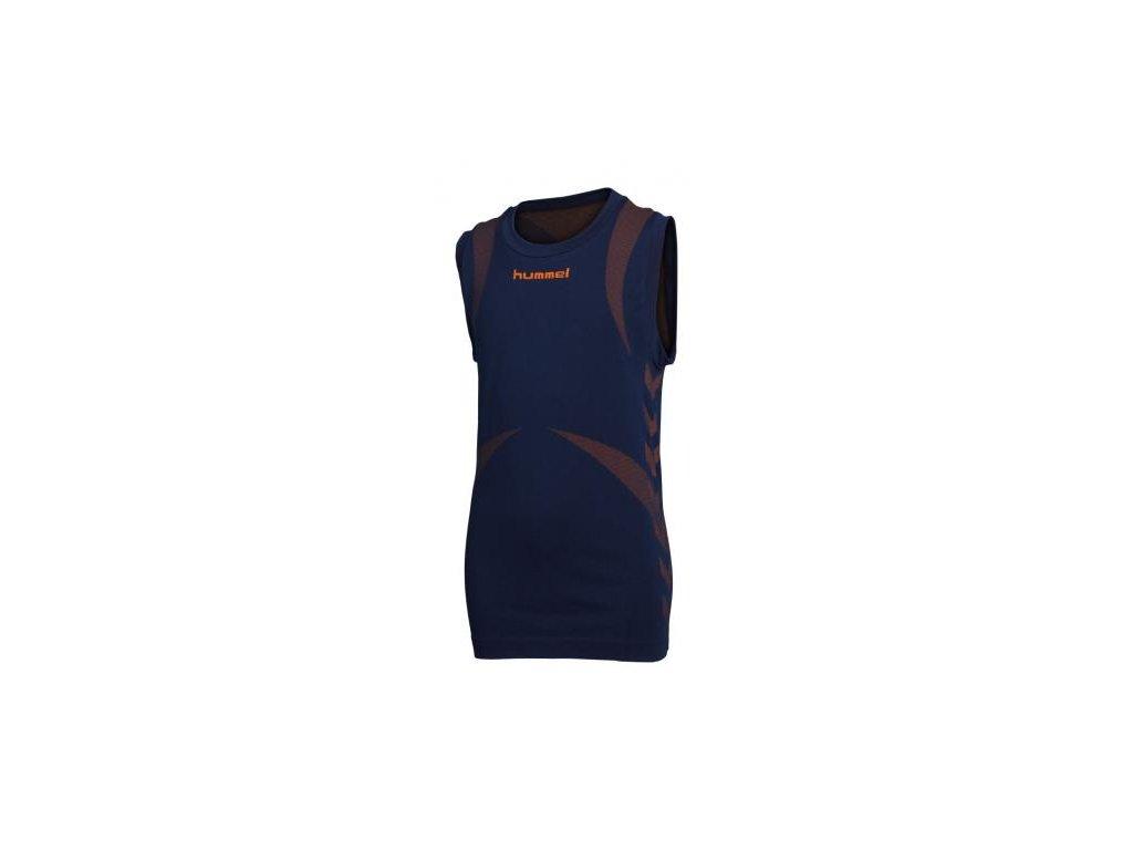 Hummel Base Layer tričko bez rukávů - modré
