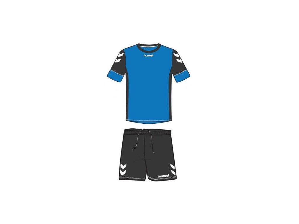 Hummel dres Spirit SMU tréninkový set - modrá/černá