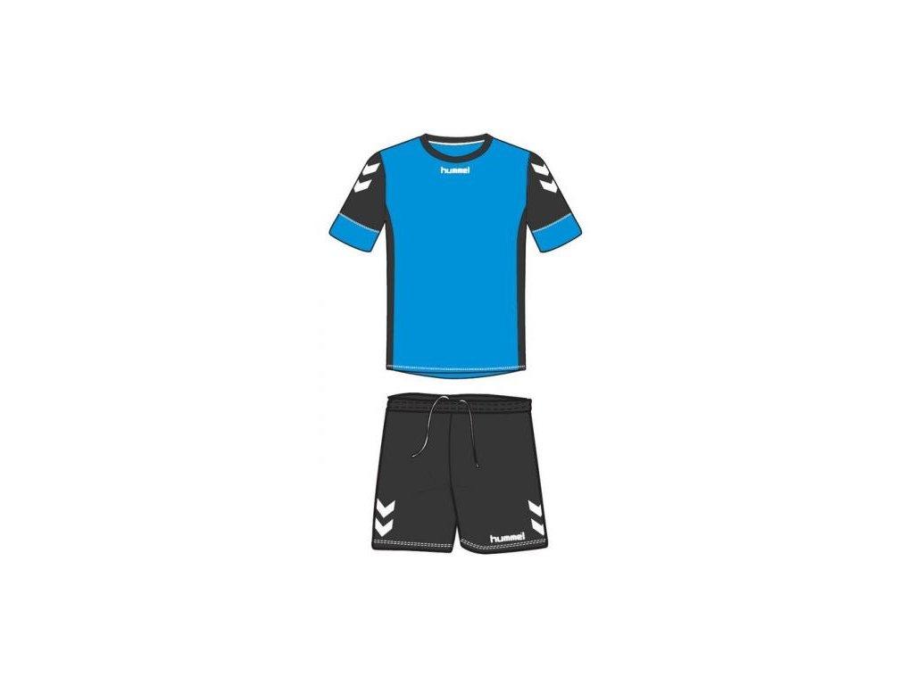 Hummel dres Spirit SMU tréninkový set - diva modrá/černá